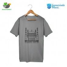 Kaos Jukut Islamic Center Grey